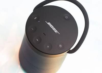 Phía trên Bose SoundLink Revolve + là các nút bấm chức năng