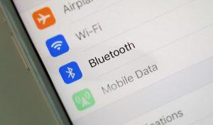 Bật bluetooth trên điện thoại