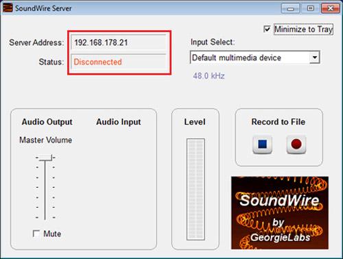 Cài đặt SoundWire trên máy tính